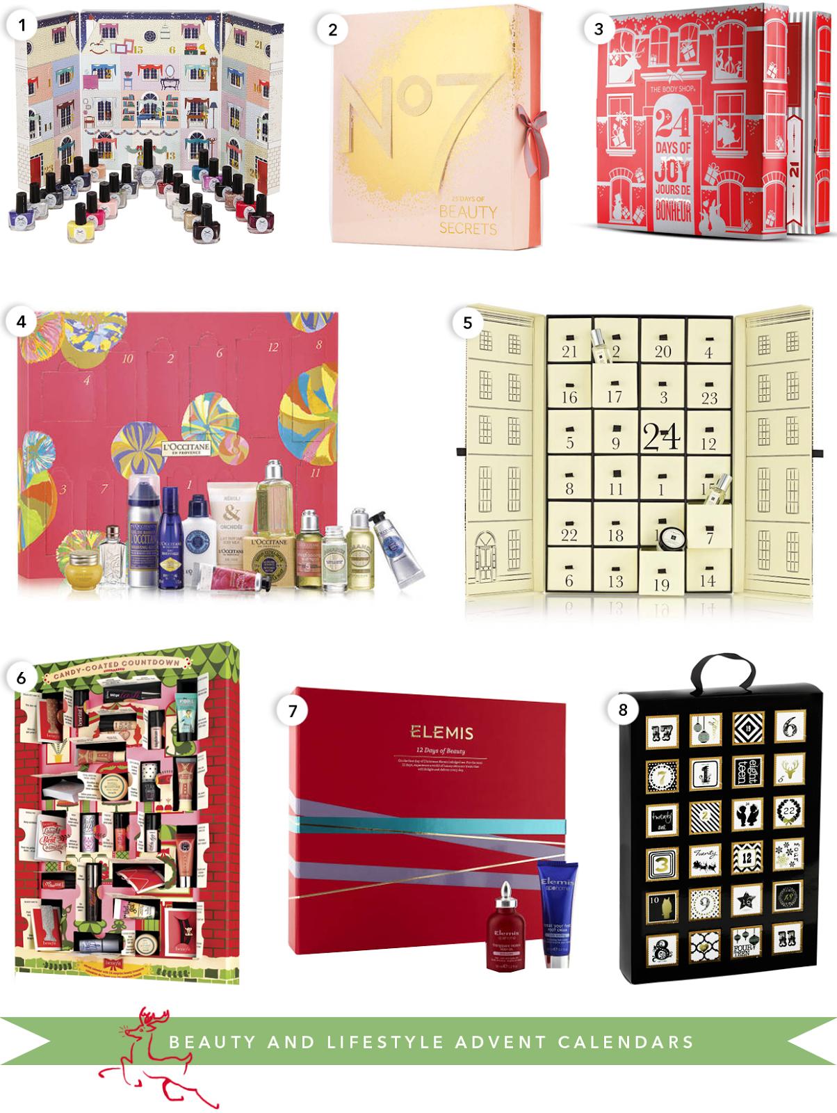 the best beauty advent calendar 2014