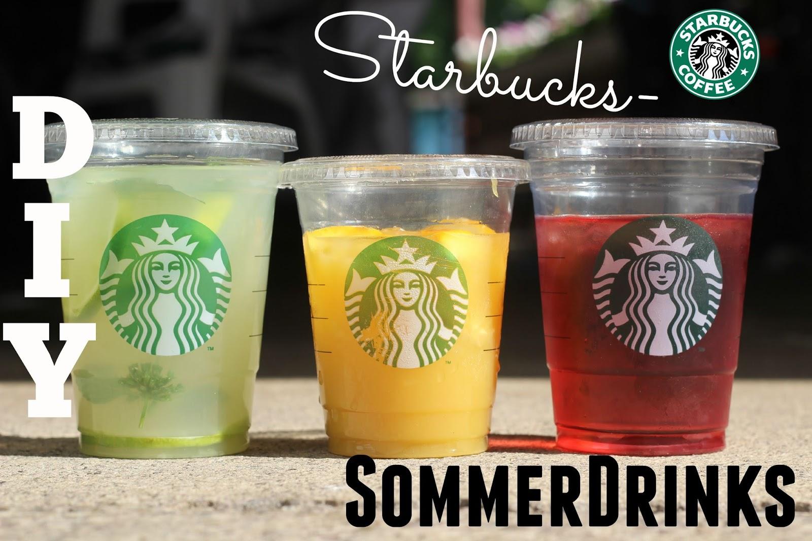 La vie et moi: STARBUCKS Sommer Getränke♡