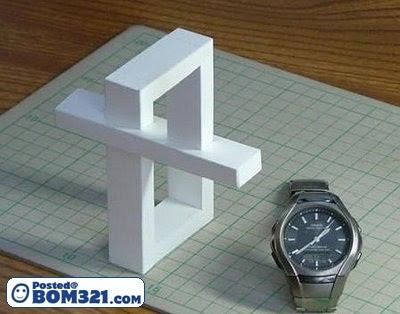 Gambar Ilusi : Struktur Yang Mustahil
