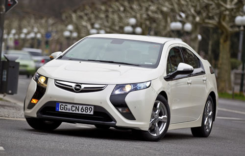 2012 Opel Ampera Review Cars Gallery