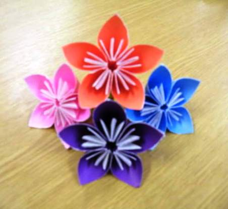 Origami flower instructions easy 3d make origami easy instructions origami flower instructions easy 3d mightylinksfo