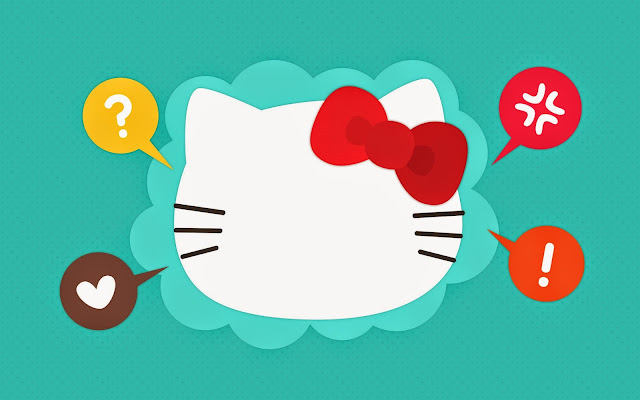 17642-Hello Kitty Head HD Wallpaperz