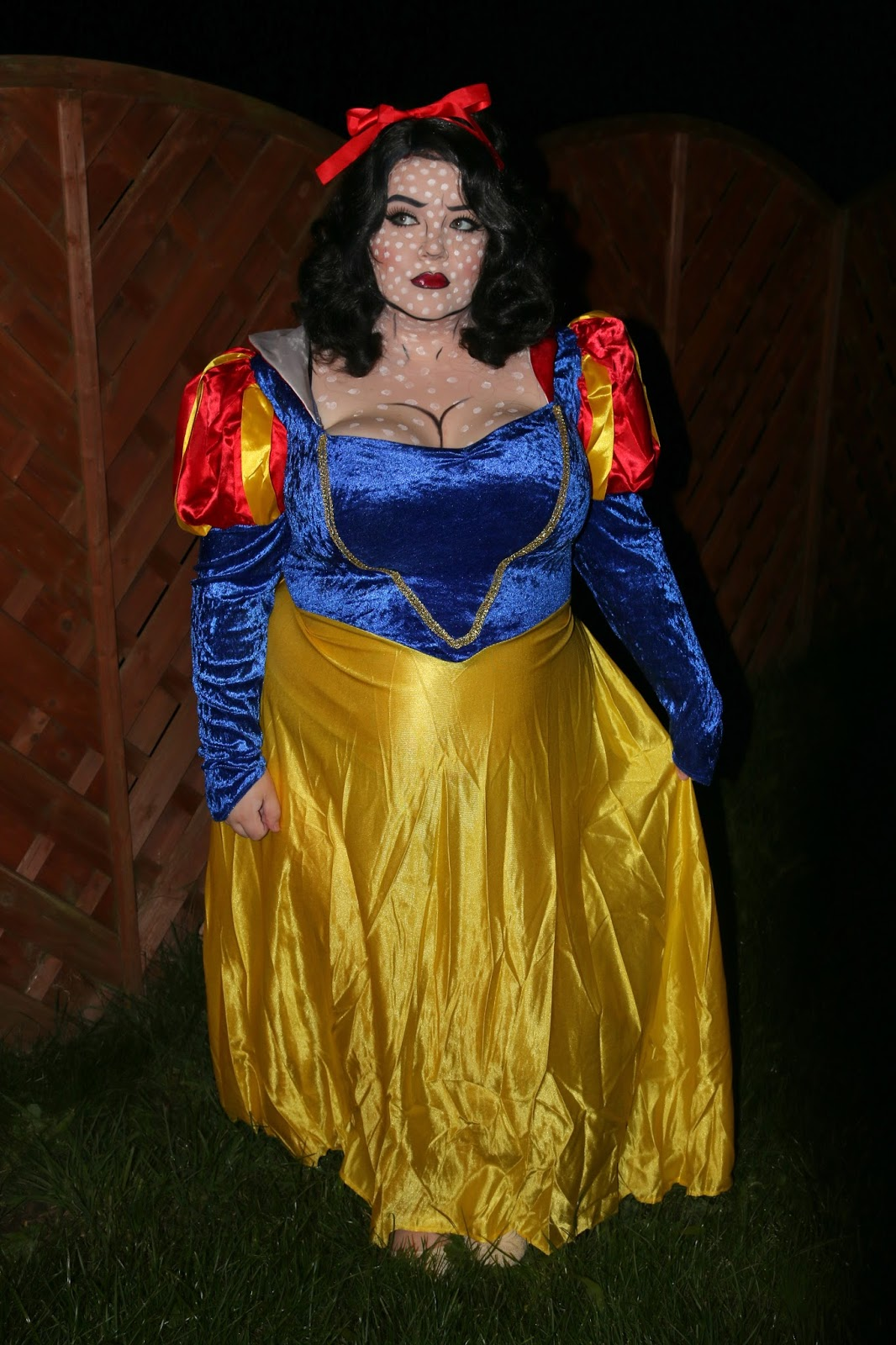 Disney Snow White Pop Art Halloween Makeup