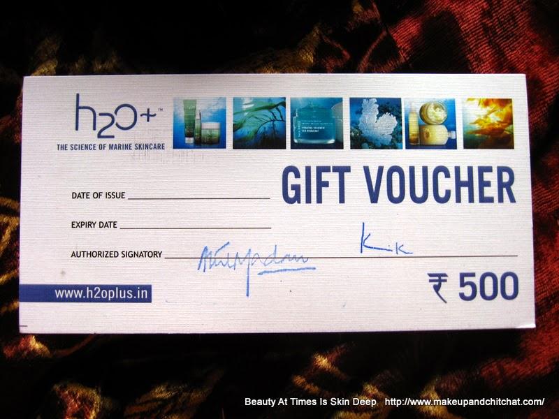 H2O gift Card MEB