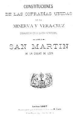 Estatutos fruto de la unión de las cofradías del Santísimo Sacramento de Minerva con la de la Santa Vera Cruz. Archivo partilcular.