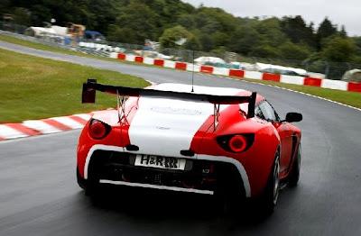 2011 Aston Martin V12 Zagato Race car