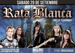 """RATA BLANCA EN EL """"MU.MI."""" (URUGUAY) - 20/09/2014"""