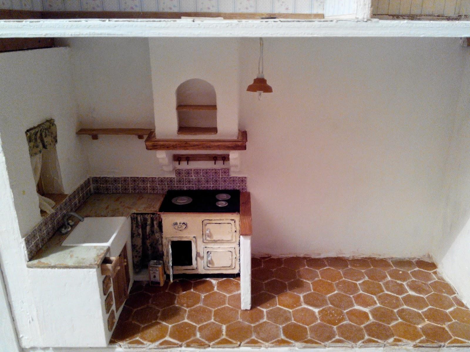 Le mini di claudia il mondo in scala 1 12 le - Muretto divisorio cucina soggiorno ...