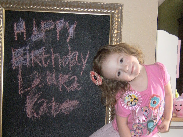 Dear Laura Kate (3 Years)
