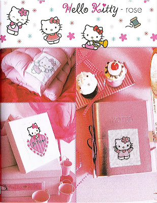 Ponto Cruz - Hello Kitty