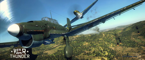 War Thunder Multiplayer Offscreen Gameplay