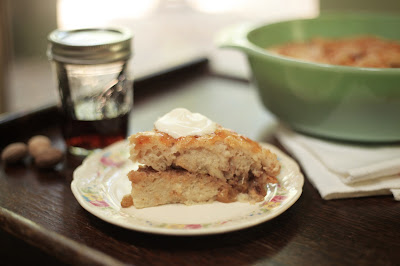 Jalapeno Jelly Glazed Bread Pudding