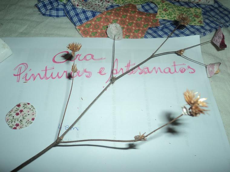 Modo de fazer: Flores de Retalhos/Material