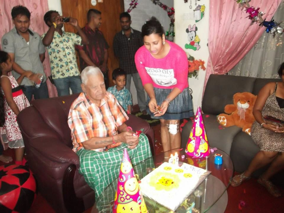 Madhu's siya's 96 birthday party