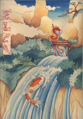 Shamanic view koi fish meaning for Koi dragon meaning