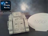 Kosmiczni Marines Chaosu Rhino Tzeentcha WiP 1