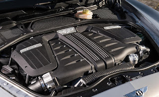 2016 Bentley Continental GT Engine
