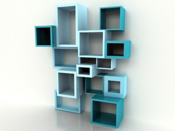 Cool Parametric Bookshelves Ideas