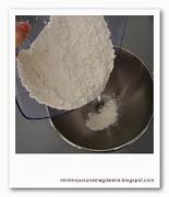 harina en bol