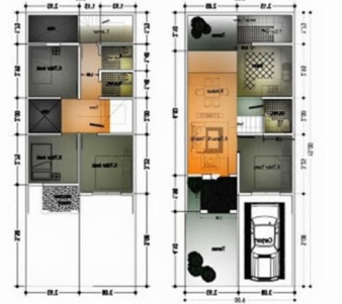 Agar lebih jelas untuk mengetahui tentang Desain Rumah Minimalis untuk type 60 1 dan 2 lantai Anda bisa melihat Gambar Desain Rumah Minimalis dibawah ini :
