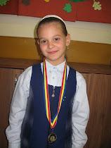 Medalia de aur la concursul eurojunior