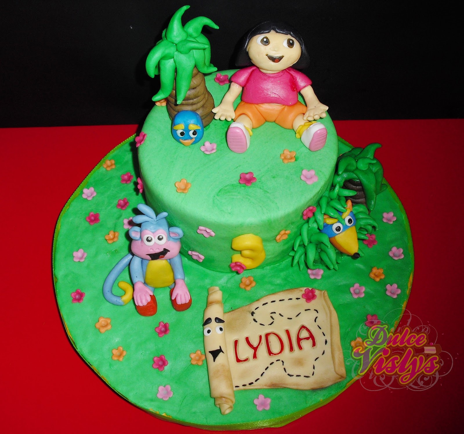 La cocina de vislys tarta dora exploradora - Dora la exploradora cocina ...