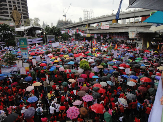 Crowd at EDSA prayer rally