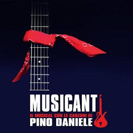 """""""MUSICANTI IL MUSICAL CON LE CANZONI PIÙ' BELLE DI PINO DANIELE"""" regia di Bruno Oliviero"""