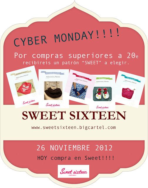 CYBER MONDAY en SWEET!!!!