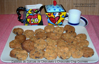 Galletas de Goticas de Chocolate o Chocolate Chip Cookies