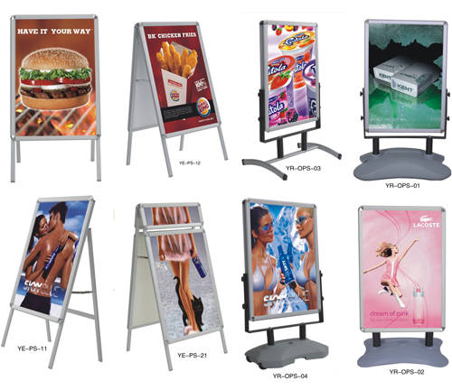 How to make a poster board stand out