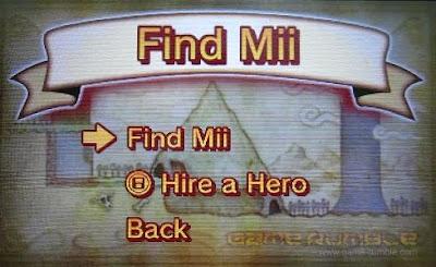 Find Mii 3DS