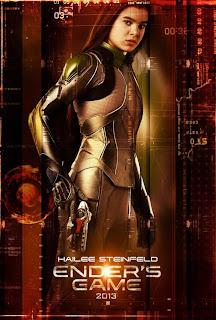 Ender's Game character poster - Hailee Steinfeld