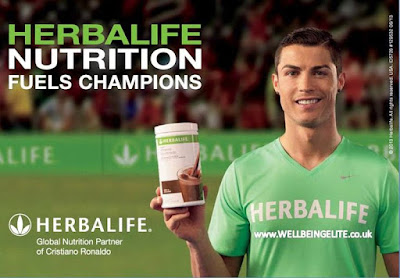 Ronaldo Sữa giảm cân Herbalife