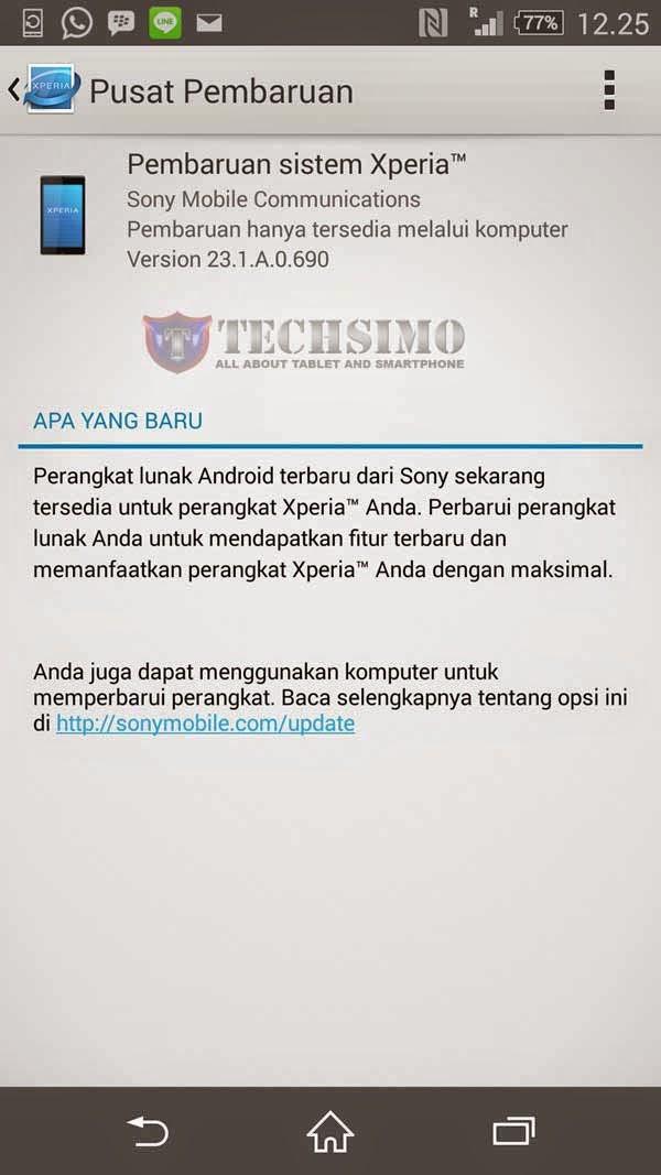 Sony gulirkan update Android v5.0.2 Lollipop untuk Xperia Z2 negara Indonesia