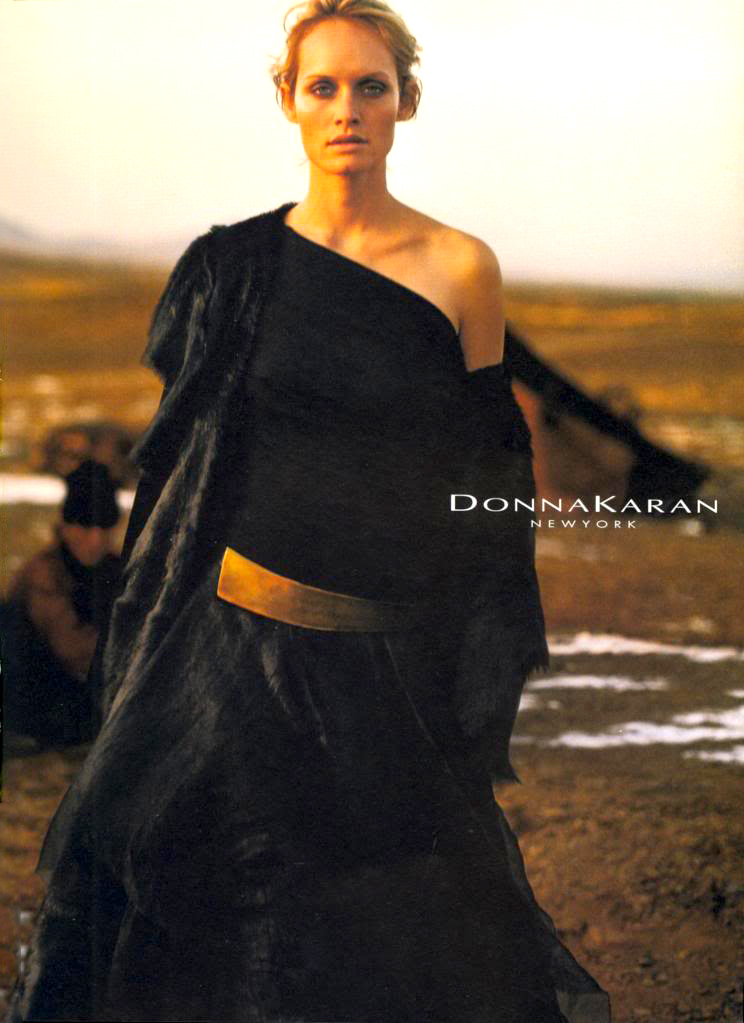 Donna Karan Fall/Winter 2001 campaign