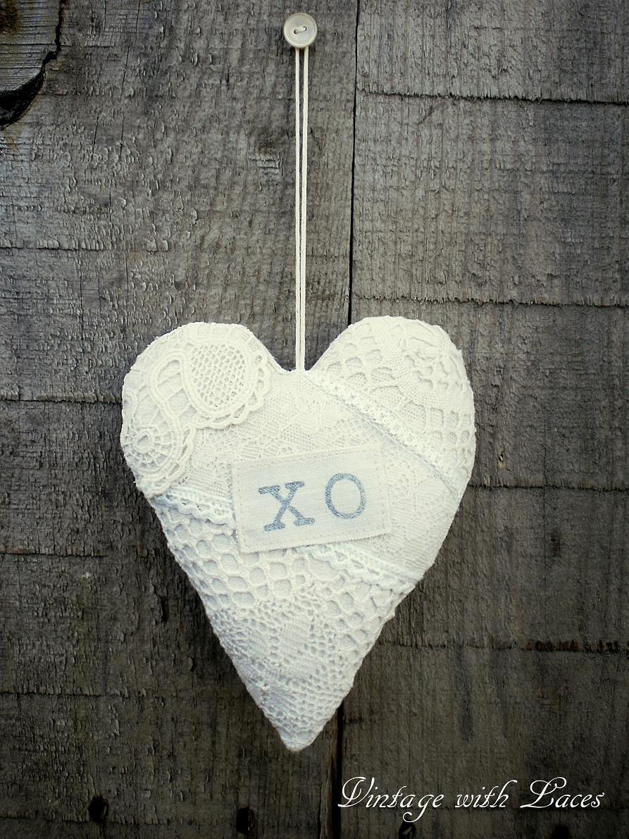 Lace Heart XO