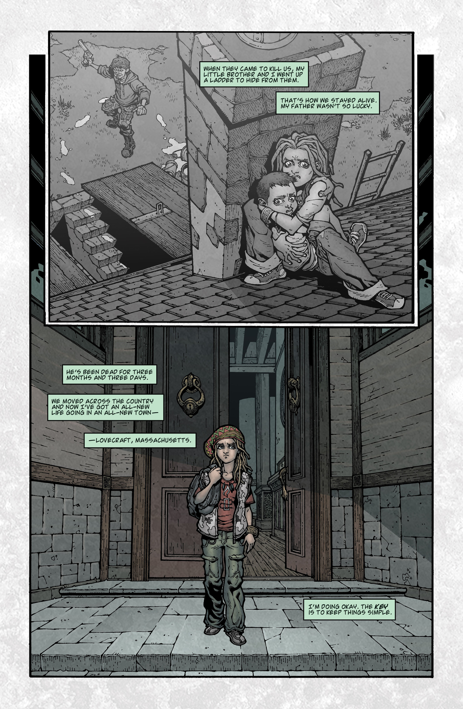 Locke & Key (2008) Issue #3 #3 - English 4