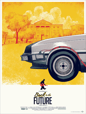 Back to the Future Trilogy Screen Print Set by Phantom City Creative - Back to the Future