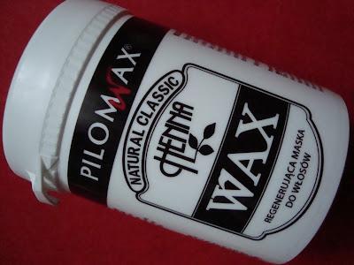 PILOMAX Henna Wax Regenerująca maska do włosów - opinia