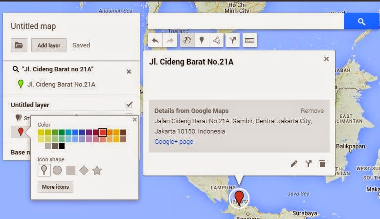 how to make a google map