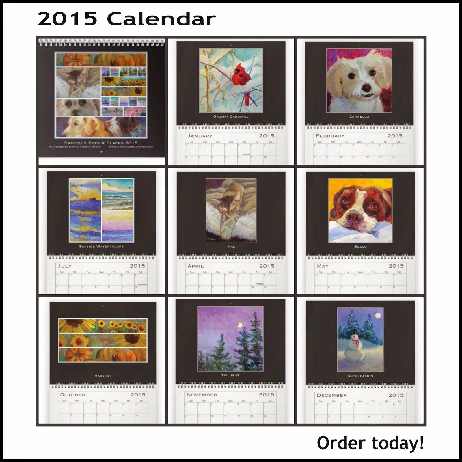 My 2015 Wall Calendar