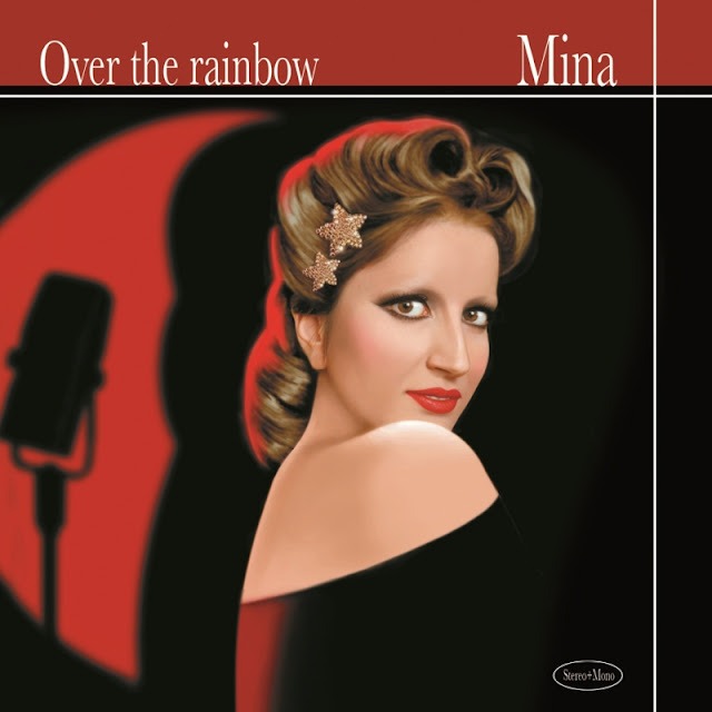 Copertina Mina - Over The Rainbow