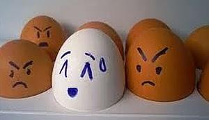 Imágenes Graciosas, Huevos Racistas