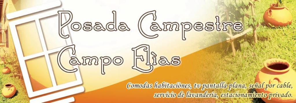 POSADA CAMPESTRE CAMPO ELIAS