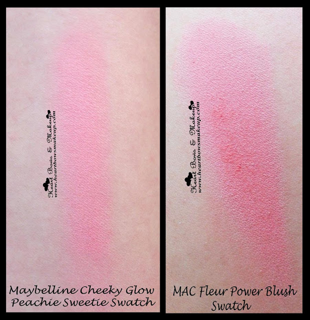 MAC Fleur Power Blush Dupe