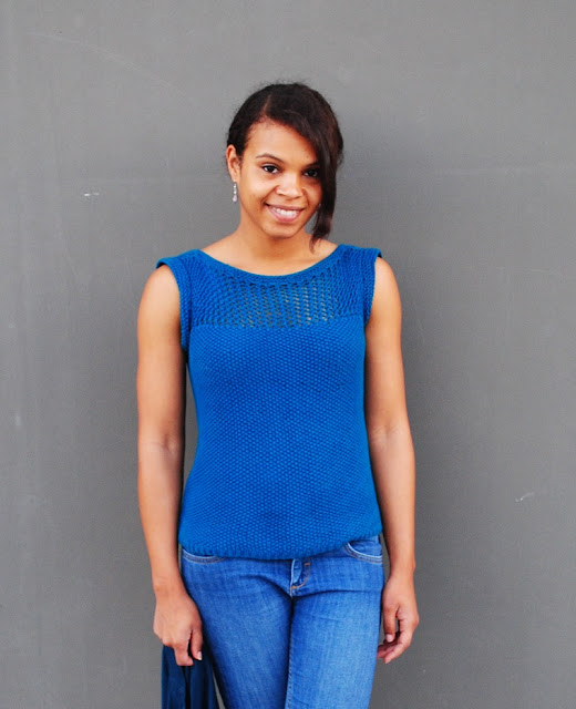 We are knitters Juliet tee