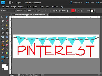 Make Social Networking buttons for all social media sources like facebook, Pinterest and etsy