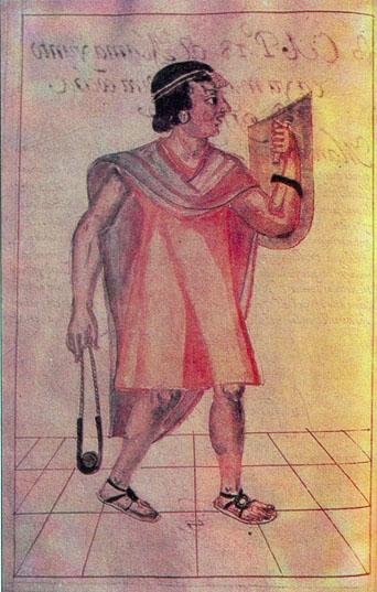 Pachacútec, según la crónica de Martín de Murúa (1615).
