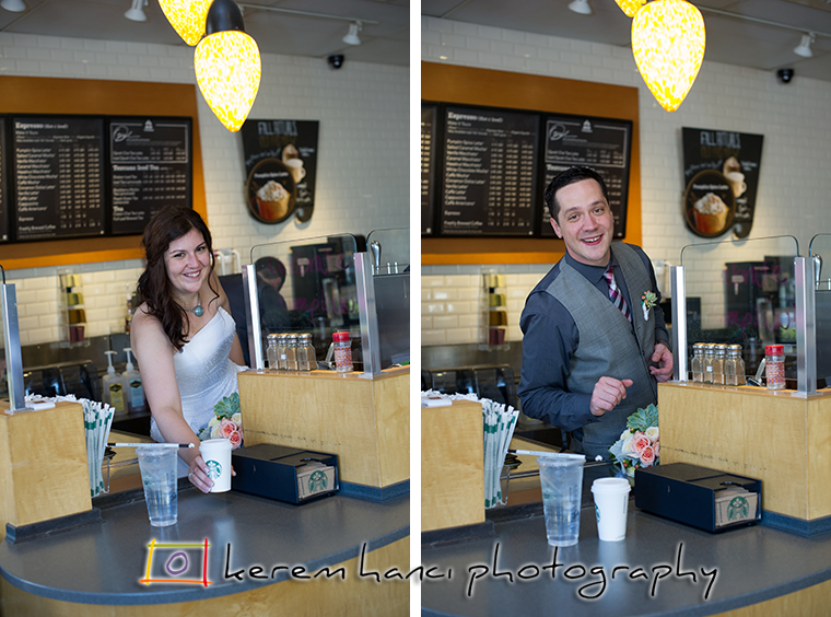 These two Starbucks store managers know what they are doing behind the counter